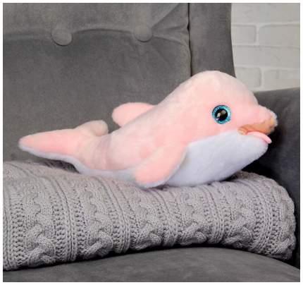 Дельфин Ружэ розовый, 30 см