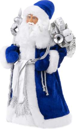 Новогодняя фигурка Феникс-Презент Дед Мороз в синем костюме