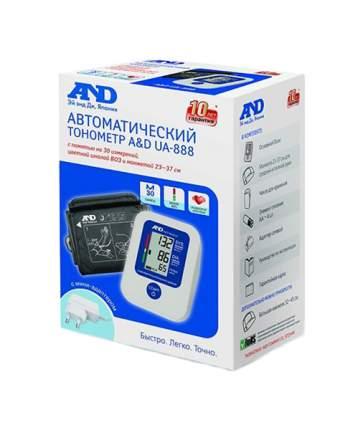 Тонометр A&D UA-888 c манжетой 23-37 см и сетевым адаптером