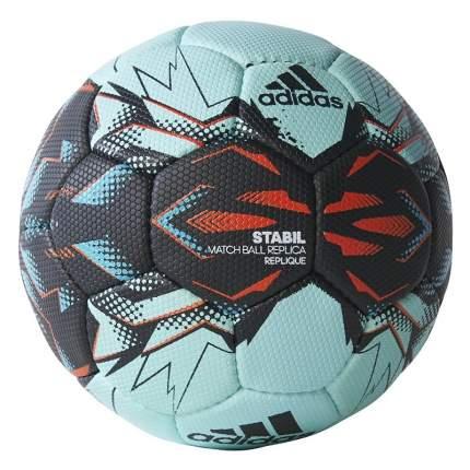 Мяч гандбольный Adidas Stabil Replique 2017, 2, голубой