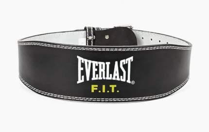 Пояс тяжелоатлетический Everlast Leather Lifting, L, EVFS-5000