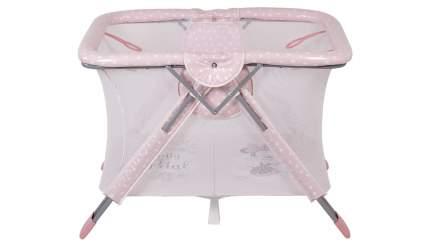 Манеж Polini kids Disney baby Comfort, Минни маус Фея, розовый