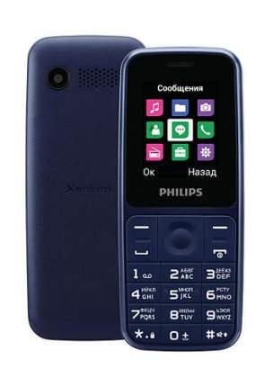 Кнопочный телефон Philips Xenium E125 B