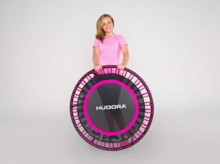 Батут Hudora Sky 91 см, pink/black