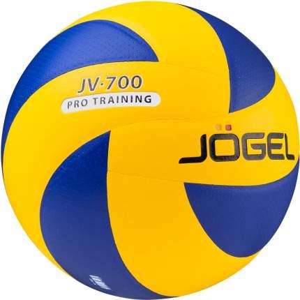 Волейбольный мяч Jogel JV-700 №5 blue/yellow