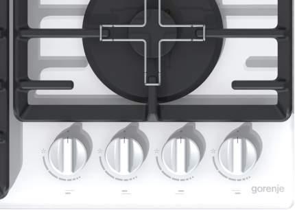 Встраиваемая варочная панель газовая Gorenje GT641W White
