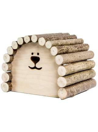 Домик для грызунов Zoobaloo овальный средний, 18 х 15 х 15см