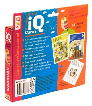 Набор Занимательных карточек для Дошколят, Совёнок (5+)