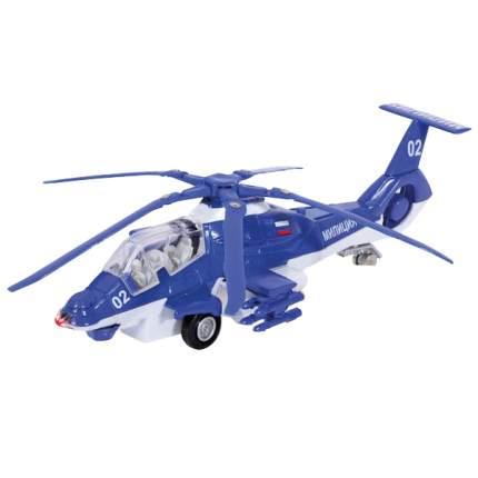 Вертолет Технопарк 1:43 Полиция