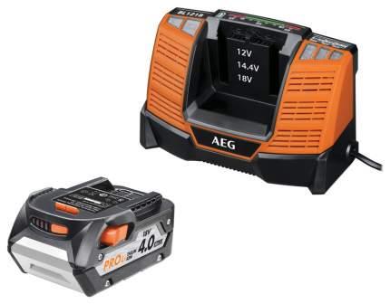 Аккумулятор и зарядное устройство AEG SETL1840BL