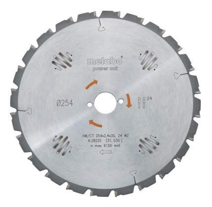 Диск по дереву для дисковых пил metabo 628014000