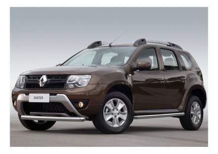 Защита порогов RIVAL для Nissan; Renault (R.4703.006)