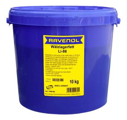 Универсальная смазка RAVENOL Waelzlagerfett LI-86 (10л) (4014835200845)