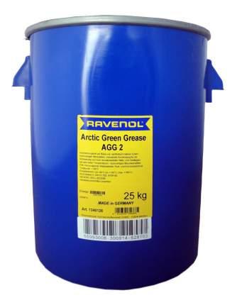 Универсальная смазка RAVENOL Arctic Green Grease AGG2 (25л) (4014835756885)