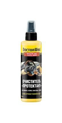"""Очиститель """"Протектант"""" для винила, кожи, пластика, резины Doctor Wax DW5248"""