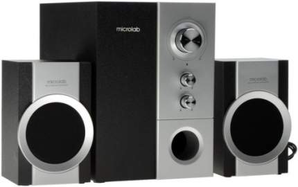 Колонки компьютерные 2.1 Microlab M-520 Серебристый/Черный