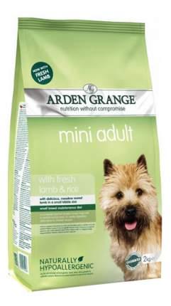 Сухой корм для собак Arden Grange Adult Mini, ягненок, рис, 6кг