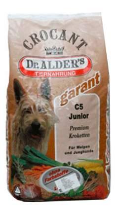 Сухой корм для щенков Dr. Alder's Garant С-5 Junior, говядина, рис, 18кг