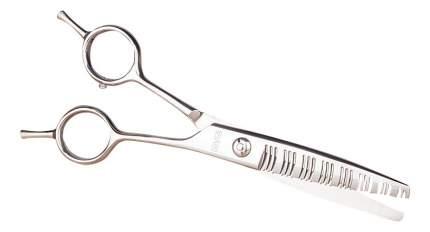 Филировочные ножницы прямые для собак EHASO закругленные концы