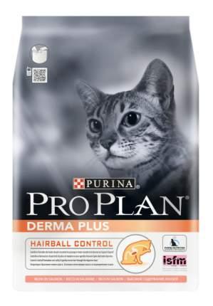 Сухой корм для кошек PRO PLAN Derma Plus, для чувствительной кожи, лосось, 1,5кг