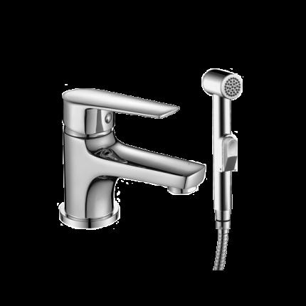 Смеситель с гигиеническим душем Rossinka Silvermix S35-15 хром