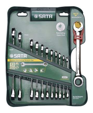 Набор комбинированных ключей SATA 09066