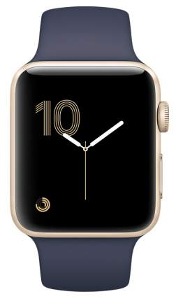 Смарт-часы Apple Watch Series 1 38mm Gold Al/Blue (MQ102RU/A)