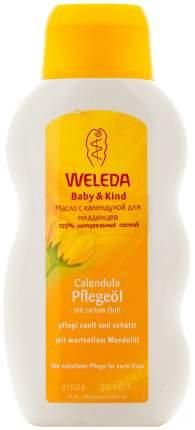 Масло с календулой для младенцев Weleda с нежным ароматом 200 мл