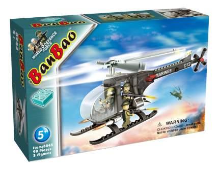 Конструктор пластиковый BanBao Военный вертолет