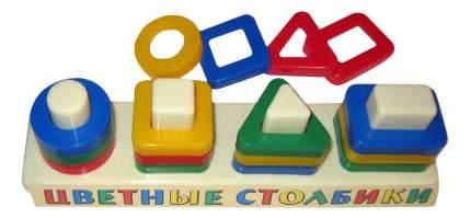 Семейная настольная игра Аэлита Цветные столбики 2С452/ЦТ-1