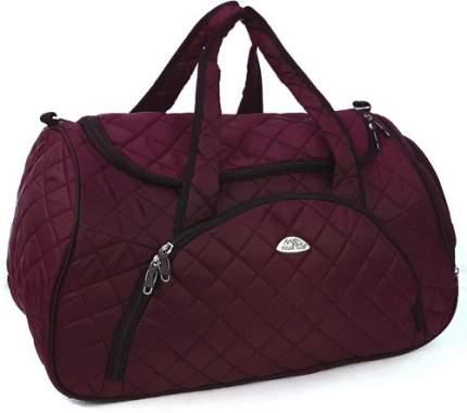 Дорожная сумка Polar Модерн бордовая 54 x 30 x 35