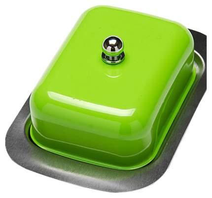 Масленка Mayer&Boch 21378-4 Зеленый, прозрачный, серебристый