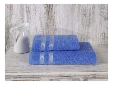 Банное полотенце KARNA голубой