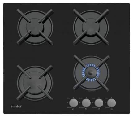 Встраиваемая варочная панель газовая Simfer H60N40B412 Black