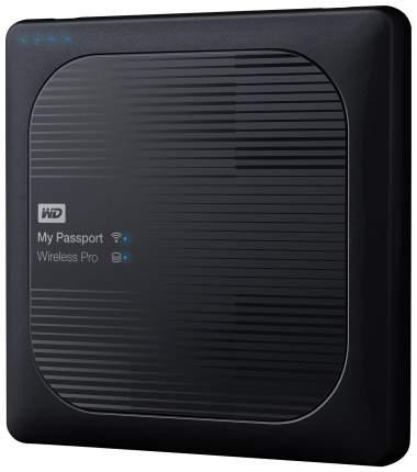 Внешний диск HDD WD My Passport Wireless Pro 2TB Black (WDBP2P0020BBK-02)