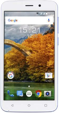Смартфон Fly FS509 Nimbus 9 Dual SIM 3G 8Gb Blue