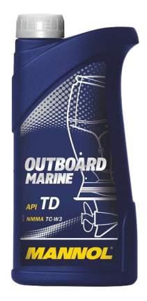Моторное масло Mannol 2-Takt Outboard Marine 1л