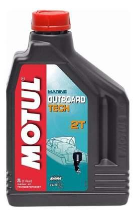 Моторное масло Motul Outboard Tech 2T 5W-30 2л