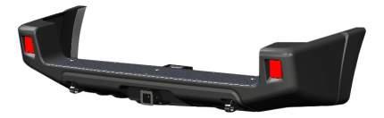 Силовой бампер АВС-Дизайн для UAZ ABC.UAZ.RB.28B