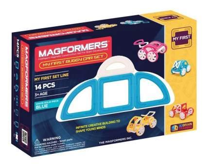 Конструктор магнитный Magformers My First Buggy blue