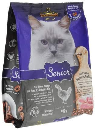 Сухой корм для кошек Leonardo Senior, для пожилых, курица, 0,4кг