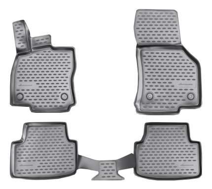 Комплект ковриков в салон автомобиля Autofamily для Skoda (NLC.3D.45.16.210k)