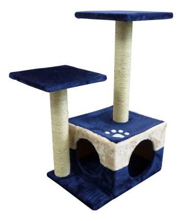 Комплекс для кошек Papillon Вена, 45x34x70 см, голубо-бежевая