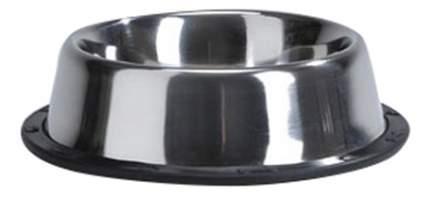 Одинарная миска для собак Beeztees, сталь, резина, серебристый, 0.7 л