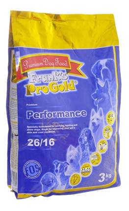 Сухой корм для собак Frank's ProGold Performance, курица, 15кг