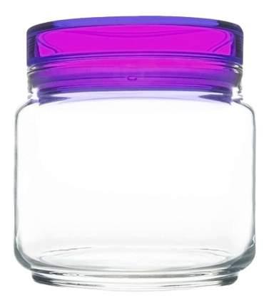 Банка для хранения Luminarc Colorlicious с фиолетовой крышкой 0,5 л