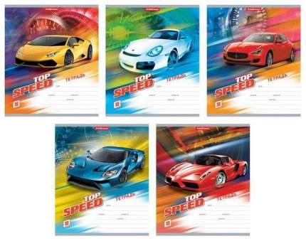 Тетрадь ученическая 18 листов Линейка Top speed