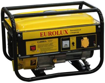 Бензиновый генератор G4000A Eurolux, 1 шт