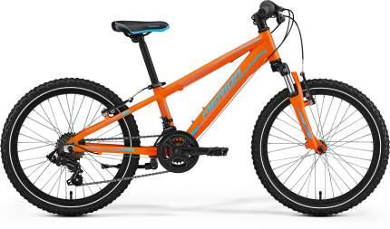 Велосипед Merida Matts J.20 2017 onesize Matts J.20 зеленый (orange/lite green)