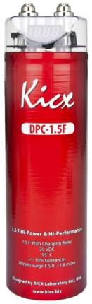 Конденсатор для автоакустики KICX DPC 1,5F 2030143 1,5Ф